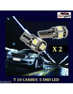 Bombillas T10 5 SMD Canbus