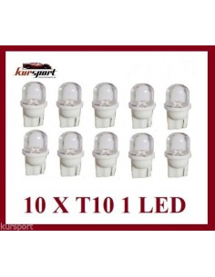 Bombillas T10 1 Led