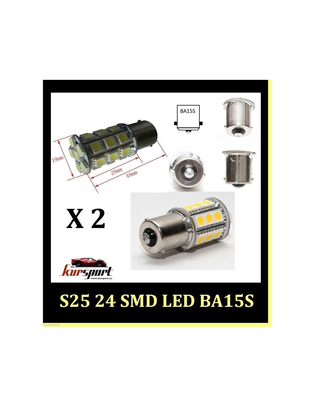Bombillas S25 1 Polo BA15S 24 SMD