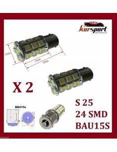 Bombillas S25 1 Polo BAU15S 24 SMD