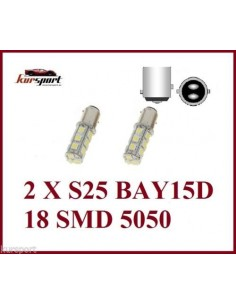 Bombillas S25 2 Polos BAY15D 18 SMD