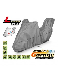 Funda para moto Mobile Garage L + Baul