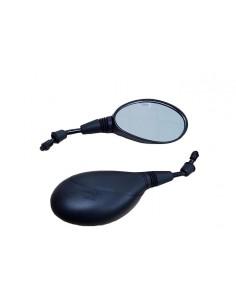 Espejos retrovisores universales ovalados 81-K067-01-6