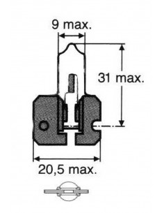 Bombillas halógenas H2