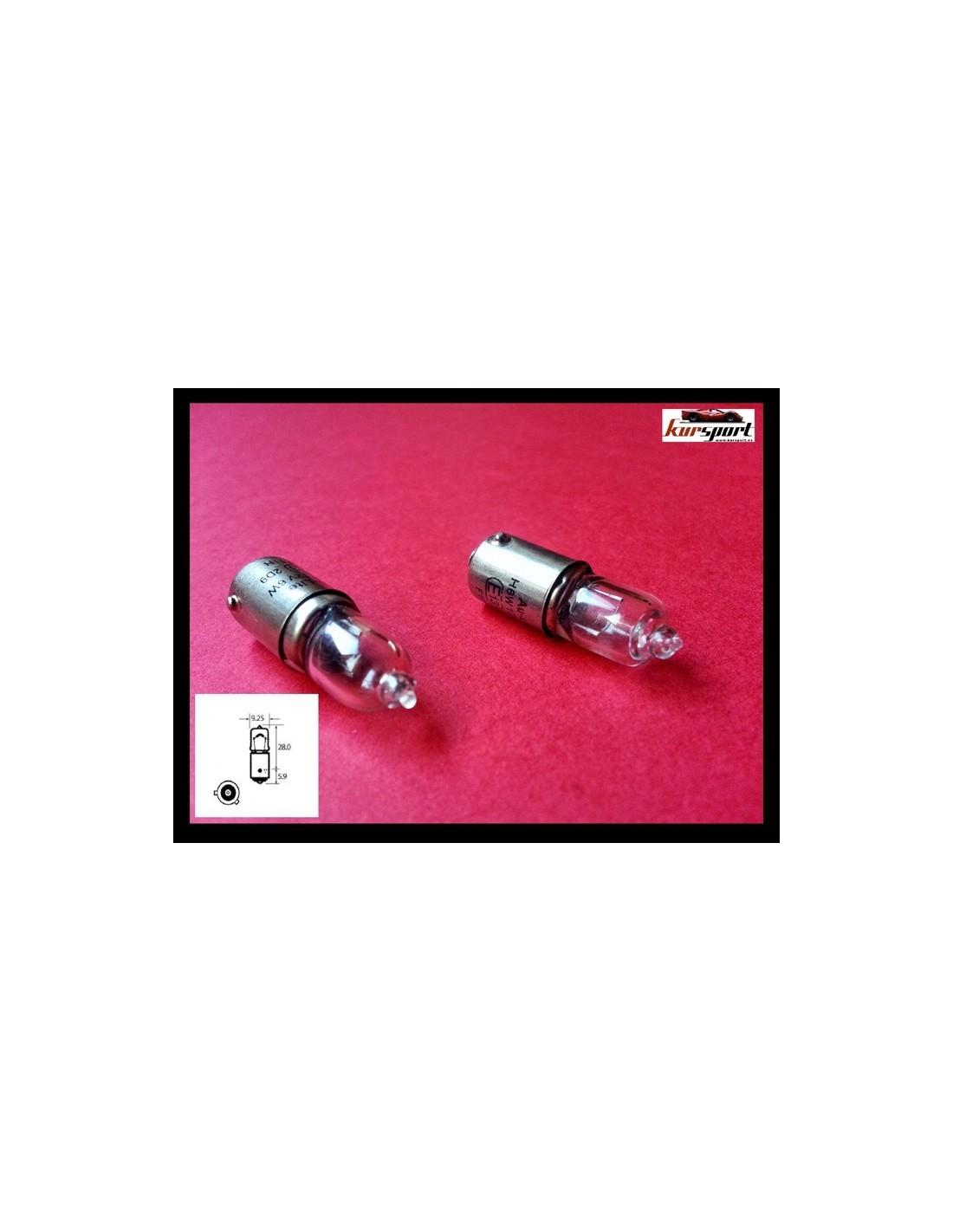 Bombillas lamparas halogena h6w - Tipos bombillas halogenas ...