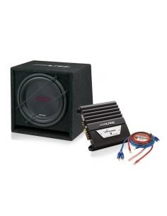 Alpine Subwoofer + Amplificador SBG-12KIT