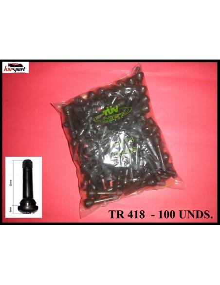 Válvulas de goma TR418