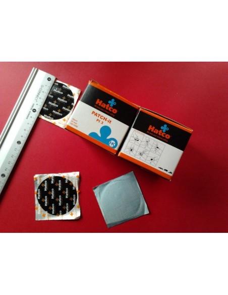 Parches para cámara de neumaticos 55 mm