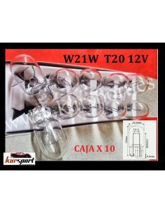 BOMBILLAS W21W T20 12V 21W W3X16d