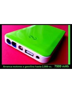 Arrancador Cargador de 7500 mAh bateria externa