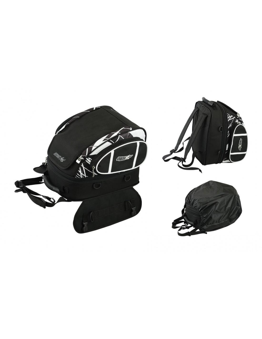 Bolsa / Mochila deposito en cordura para moto