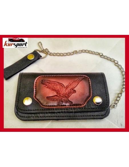 Cartera billetera de piel PU American Eagle