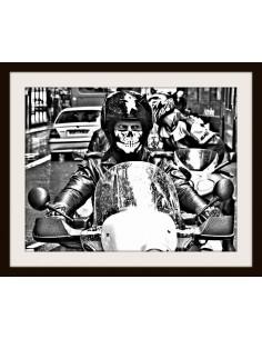 Sotocasco calavera  para moto