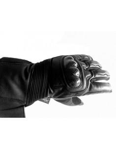 Guantes para moto piel y cordura