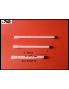 PROLONGADORES/ALARGADORES DE PLASTICO BLANCO 125mm
