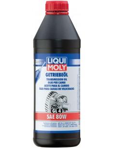 Aceite para el cambio (GL4) SAE 80W 1l Liqui Moly 1020