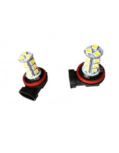 Bombillas Led H8 18 SMD