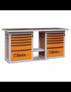 MESA TRAB. ENDURANCE 2 CAJONERAS BETA (C59 B-O). 59000002. 8014230714332