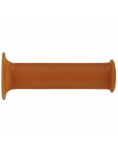 Puños Domino café racer 120mm marrón. 1124.82.75.04-0. 8430525835801