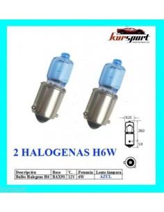 Bombillas halógenas H6W