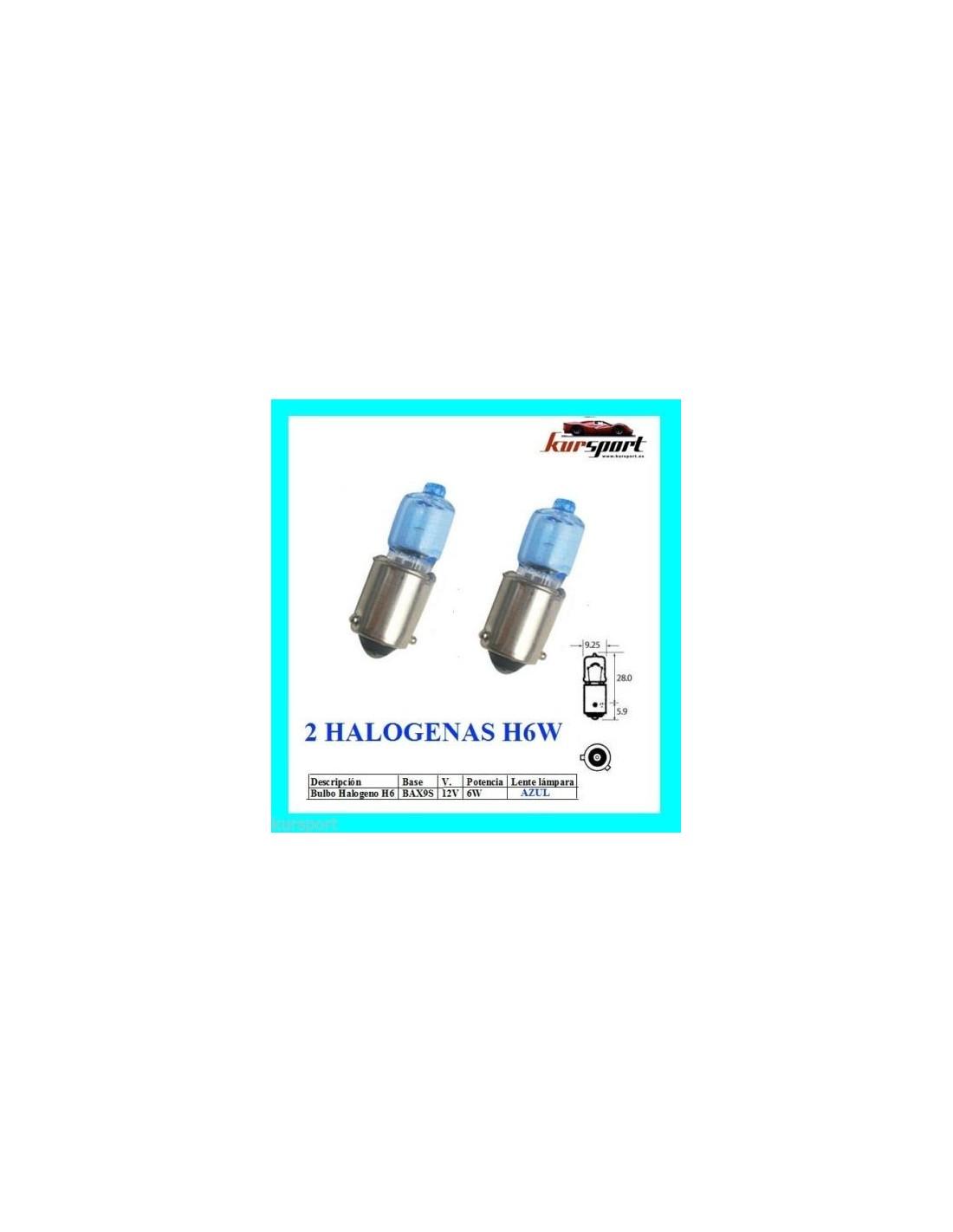 Bombillas halogenas h6w luz blanca - Tipos bombillas halogenas ...