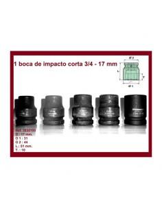 "Bocas de Impacto 3/4"" Cortas"