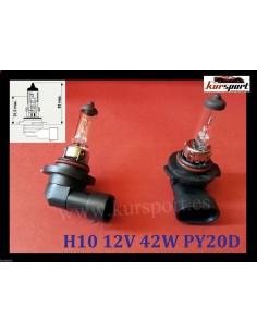 Bombillas lámparas halógenas H10