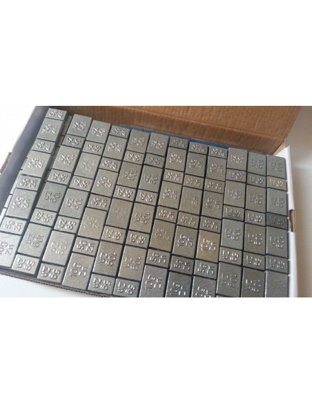 Contrapesas adhesivas universales de zinc para llantas