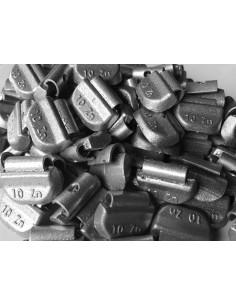 Contrapesas universales llantas de acero 10 gr