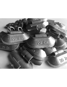 Contrapesas universales llantas de acero 20 gr
