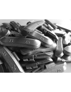 Contrapesas universales llantas de acero 35 gr
