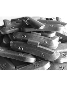 Contrapesas universales llantas de acero 40 gr