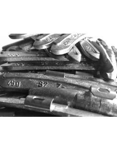 Contrapesas universales llantas de acero 45 gr