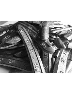 Contrapesas universales llantas de acero 50 gr