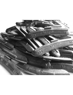 Contrapesas universales llantas de acero 55 gr