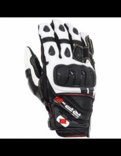 Guantes Racing de cuero cortos Oxford RP-3 negro/blanco talla S. GM205S. 5030009244216
