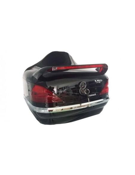 Baúl rígido moto custom con llaves VR01-002