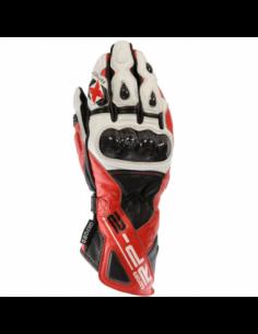Guantes Racing de cuero Oxford RP-2 rojo/blanco talla S. GM218S. 5030009244469