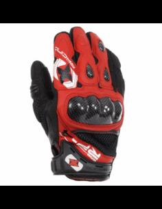 Guantes Racing cortos de cuero-rejilla Oxford RP-4 rojo/negro talla L. GM201L. 5030009244049