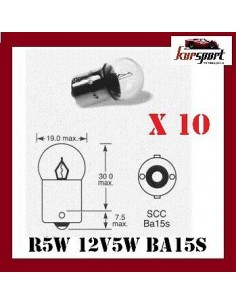 Bombillas lamparas R5W