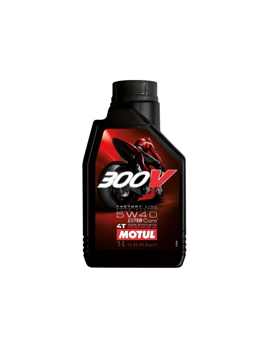 Aceite Motul 300V 4T Factory Line 5W40