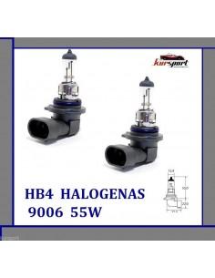 Bombillas lámparas halógenas HB4 9006