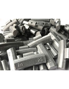 Contrapesas universales llantas de aluminio 25 gr