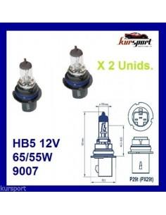Bombillas lámparas halógenas HB5 9007