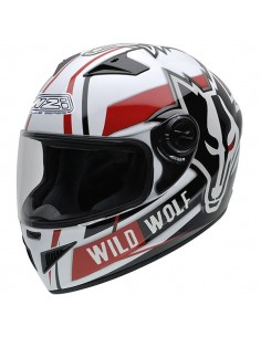 Casco de moto NZI Must II Xlogo Orange