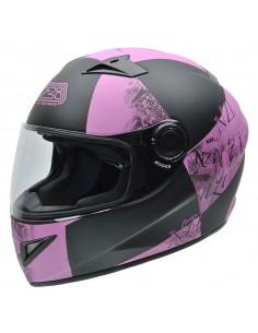 Casco de moto NZI Must II Victory Pink
