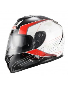 Casco de moto NZI Symbio Duo Dart Red Green