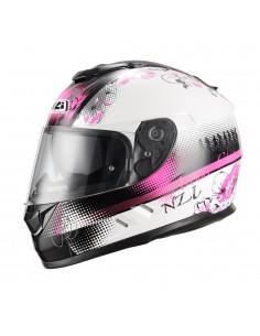 Casco de moto NZI Symbio Duo Sundace White Pink