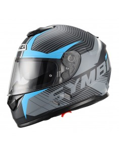 Casco de moto NZI Symbio Duo Tera Black Blue