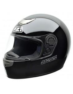 Casco de moto NZI Astron 600 Negro Brillo